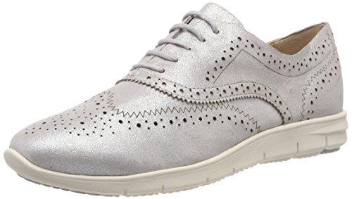 Caprice Damen Brogues, Silber (Silver Metal 920), 39 EU