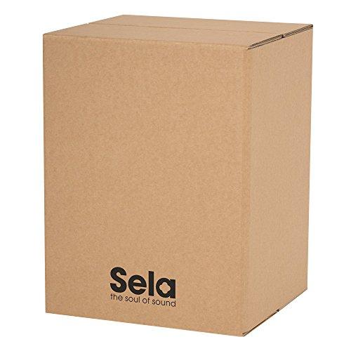 Sela SE 087 Carton Cajon geeignet für Kinder und Anfänger, Drum Box mit Snare Sound, Made in Germany