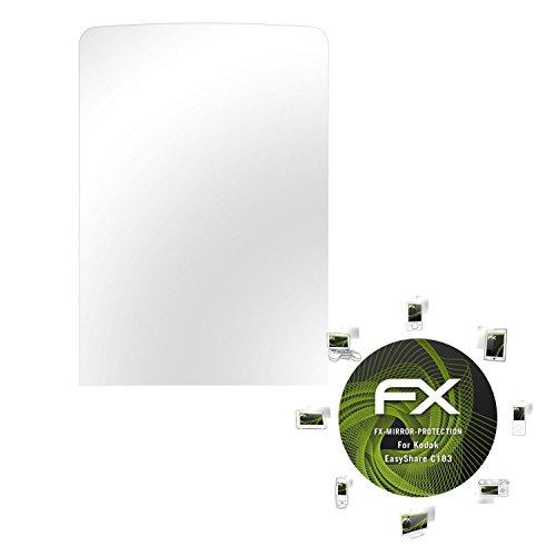 Kodak EasyShare C183 Spiegelfolie - atFoliX FX-Mirror Displayschutz Folie mit Spiegeleffekt