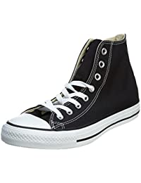 Converse Chuck Taylor All Star Season Hi Tex 130126C, Baskets mode mixte adulte, Black, 38