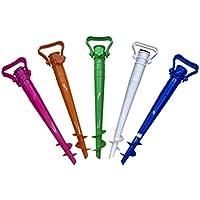 Supporto per ombrellone Verde 17-33 mm GIRM/® GE798189 Picchetto con Manico