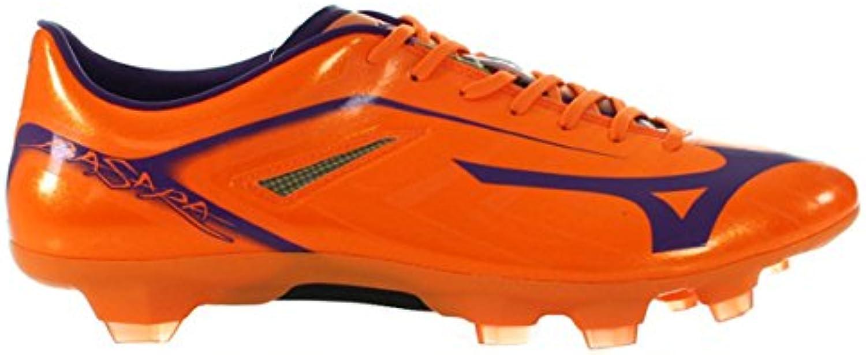 Bota de Fútbol Mizuno Basara 001 TC Neon Orange-Pansy