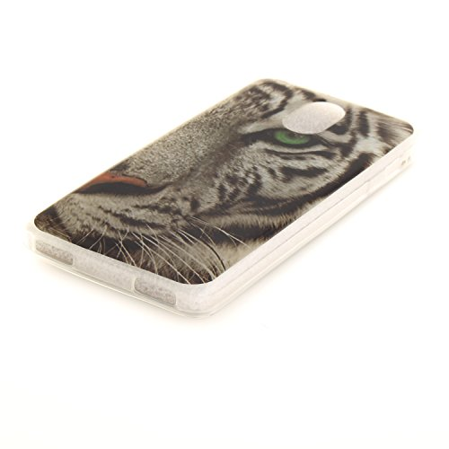 iPhone 5 Coque, Étui Cover Housse pour iPhone 5S 5C 5G, Durable TPU Rubber Skin Soft Shell iPhone SE Case, Résistant à la poussière Scratch (3D Cartoon lapin oreille ) Pink color-3