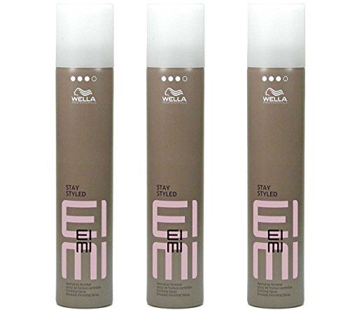 Wella EIMI Stay Styled formbares Haarspray extra strong 500ml (3´er Pack)