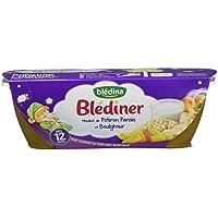 Blédina Blédîner Mouliné de Potiron Panais/Boulghour 400 g - Pack de 6