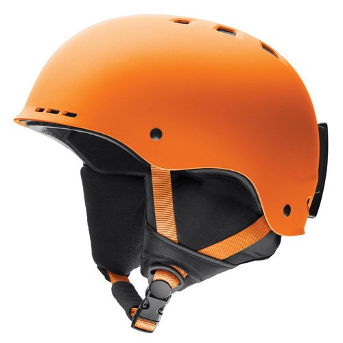 Smith Holt 5155 Skihelm, Solar orange matt/Schwarz, 51-55 -