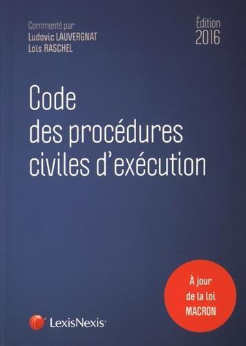 code-des-procdures-civiles-d-39-excution-2016
