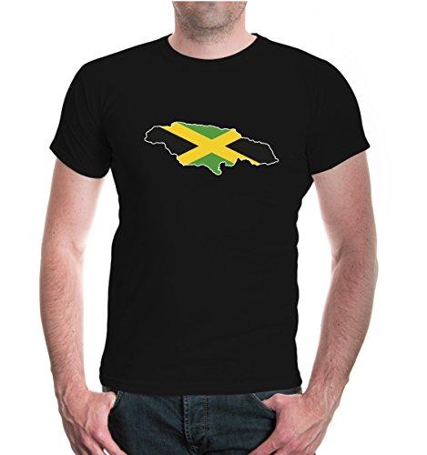 buXsbaum® T-Shirt Jamaika-Shape Black-z-direct