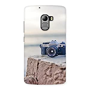 Cute Camera on Rock Multicolor Back Case Cover for Lenovo K4 Note