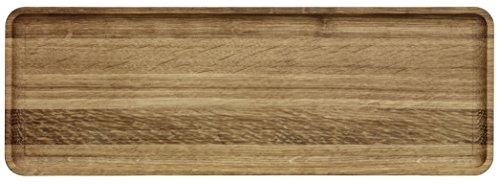 Iittala 1009035 Vitriini servie rplaten/Plateaux, Bois, chêne, 37,8 x 13.3 x 1,5 cm