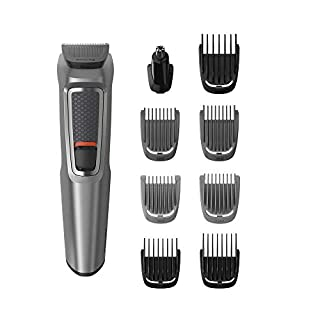 Philips Series 3000 9-in-1 Multi Grooming Kit for Beard and Hair with Nose Trimmer Attachment - MG3722/33 (B07BHYG58V) | Amazon price tracker / tracking, Amazon price history charts, Amazon price watches, Amazon price drop alerts