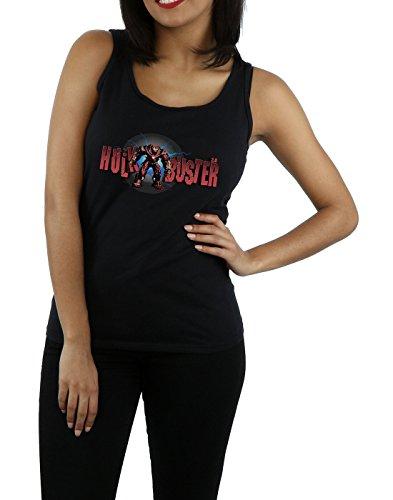 Absolute Cult Avengers Femme Infinity War Hulkbuster 2.0 Tank Top Noir