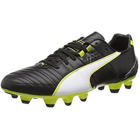 Puma Momentta II FG - zapatillas de fútbol de cuero hombre