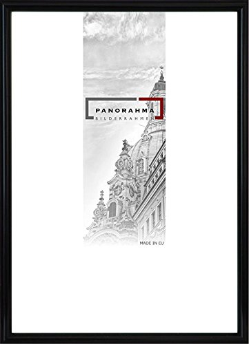 Kunststoff Bilderrahmen, Bildformat: 42 x 59,4 cm (DIN A2), Schwarz