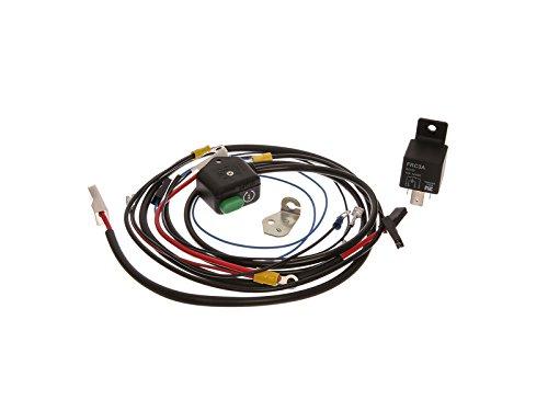 Mza cavo albero set di cavi di avviamento starter kit con pulsante, 12v-schaltrelais e schaltplan–simson s51, s70, s53, s83
