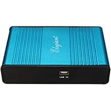 ELEGIANT USB 6 Canali Audio 5.1 di Musica Esterna Scheda Audio per il Computer Portatile del PC di Skype