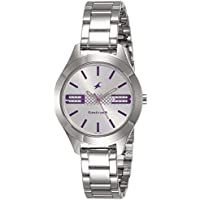 Fastrack Analog Silver Dial Women's Watch-NK6153SM01