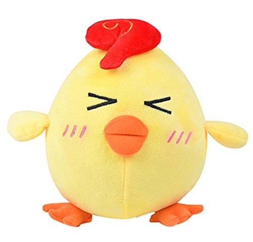 Chicken Cute (Lovely Pillow Geschenk Gefüllte Spielzeug Persönlichkeit Doll Chicken Plüsch Spielzeug Cute)