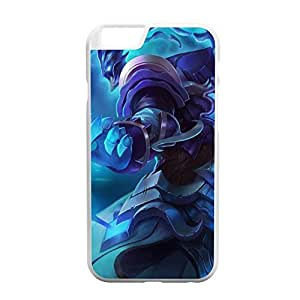 Personality customization Thresh-003 League of Legends LoL case cover for Apple iPhone 6 Plus - Plastic White