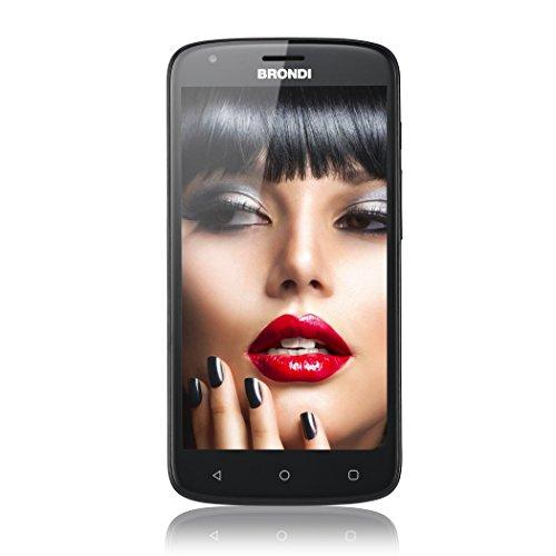 Brondi Brondi 730 4G HD Smartphone da 8 GB, Nero, [Italia]