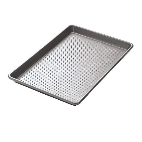 Chicago Metallic Professional Perforated Non-Stick Baking Tray, 38 cm x 25 cm (15