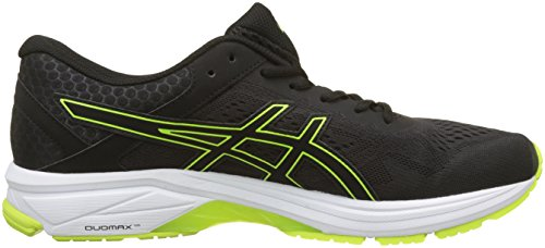 Asics Gt-1000 6, Chaussures de Running Homme Noir (Black/safety Yellow/black 9007)