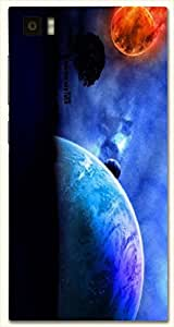 Amazing multicolor printed protective REBEL mobile back cover for Xiaomi Mi 3 D.No.N-L-17431-XM3
