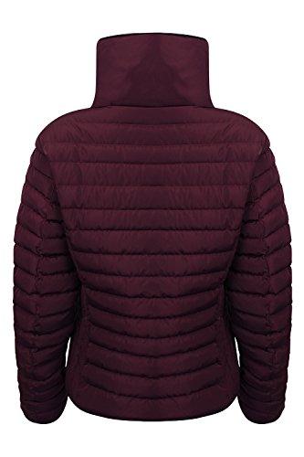 Tokyo Laundry Damen Ewok oder Zelda Gesteppt Winterjacke burgunderfarben