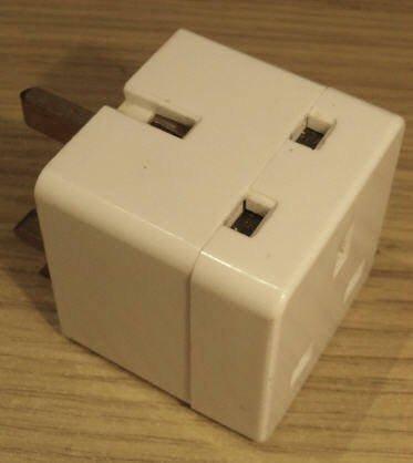 Zwei-Wege-13amp Stecker-Adapter / Adapter