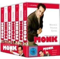 Monk - Season 1-7 (DVD)