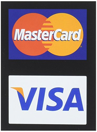 Mastercard/Visa Credit Card Decals by visa/mc