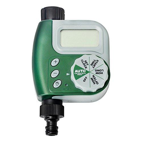 Galleria fotografica Programmatore di Irrigazione elettrico Timer Elettrovalvola Giardino controllo automatico Domestico Attrezzatura