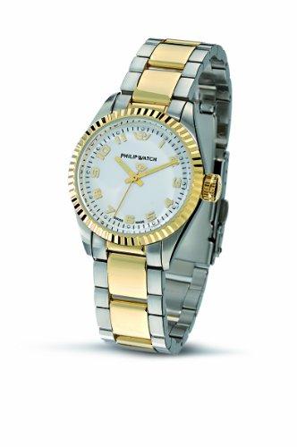Philip Watch - R8253107845 - Montre Femme - Quartz - Analogique - Bracelet Acier Inoxydable Multicolore