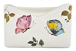 Abbiamo Tutto Butterfly 4.25 by 7-Inch Envelope Holder, 4.25 by 7-Inch