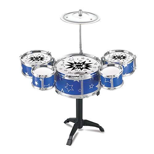 EisEyen Schlagzeug Set Drum für Kinder, Spielzeug,