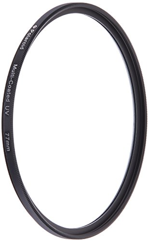 Polaroid Optics 77Mm Multi Coated Uv Protective Filter