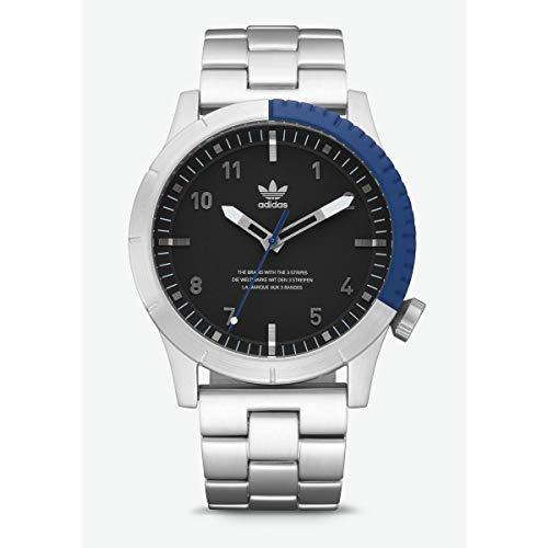 f2889974ff94 Adidas Reloj Analógico para Hombre de Cuarzo con Correa en Acero Inoxidable  Z03-2184-
