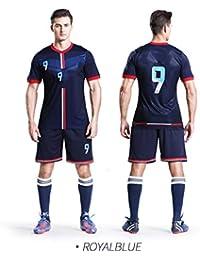 e1925aa56ebaf LQZQSP Camisetas De Fútbol Masculino Uniformes De Fútbol Profesional  Uniformes Universitarios Ropa Deportiva Ropa De Poliéster