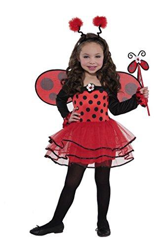Christy's Ballerina Ladybug Kinder Kostüm - 3 bis 4 ()