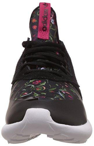 adidas Originals Tubular Runner, Chaussures de course femme Noir - Schwarz (Core Black/Core Black/Vivid Berry S14)