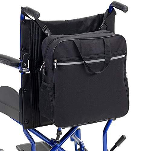 WHIHO Rollstuhltasche - Rollstuhl-Aufbewahrungstasche - Reise-Messenger Rucksack mit leicht zugänglichen Tasche & Taschen für Handicap und ältere Menschen