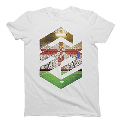 Mens Herren Fashion Shape T-Shirt Northern Ireland Nordirland Football Euro 2016