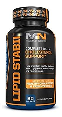 Molecular Nutrition Lipid Stabil Capsules - Pack of 90 Capsules by Molecular Nutrition