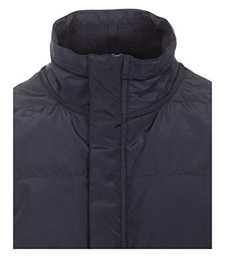 Casa Moda - Herren unifarbene Sweatweste in Blau (472625700) Blau (105)