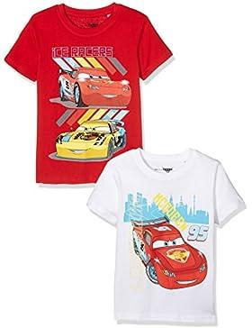 TV Mania Jungen T-shirt Disney CARS 2er Pack