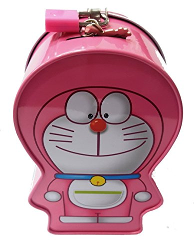 Wish Key Doreamon Design Pink Cute Coin atm piggy bank for Boys/Girls baby/kids  available at amazon for Rs.209