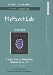 New MyPsychLab -- Standalone Access Card -- for Foundations of Behavioral Neuroscience (Mypsychlab (Access Codes))