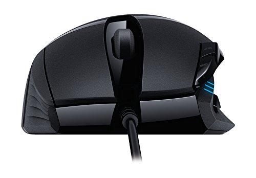 Logitech G402 Hyperion Fury FPS Gaming Mouse (mit 8programmierbaren Tasten, USB) schwarz - 5