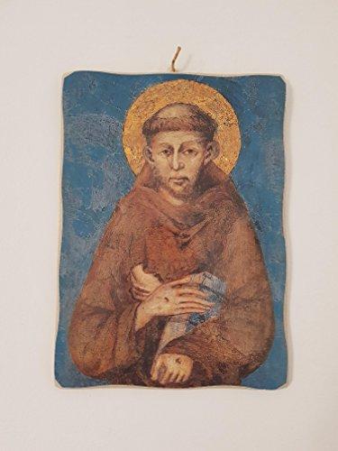 Rahmen mit San Francesco di Cimabue mit bearbeiteten Rändern (Kontrast-rand)