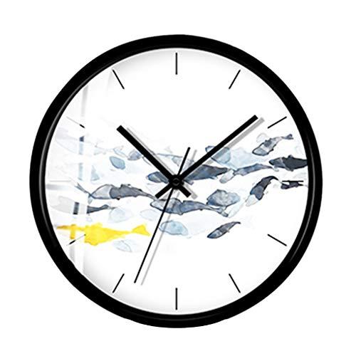 Pendules et horloges YNMB KS Films de Harry Potter Vinyl Record Réveil Home Design Chambre Art déco Vintage Fait Main LED Horloge Murale avec 7 Couleurs